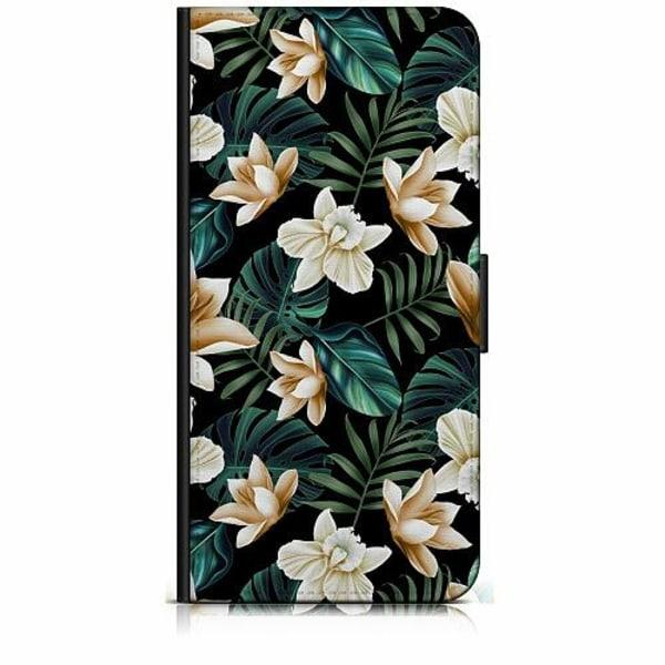 Huawei P30 Plånboksfodral Blommor