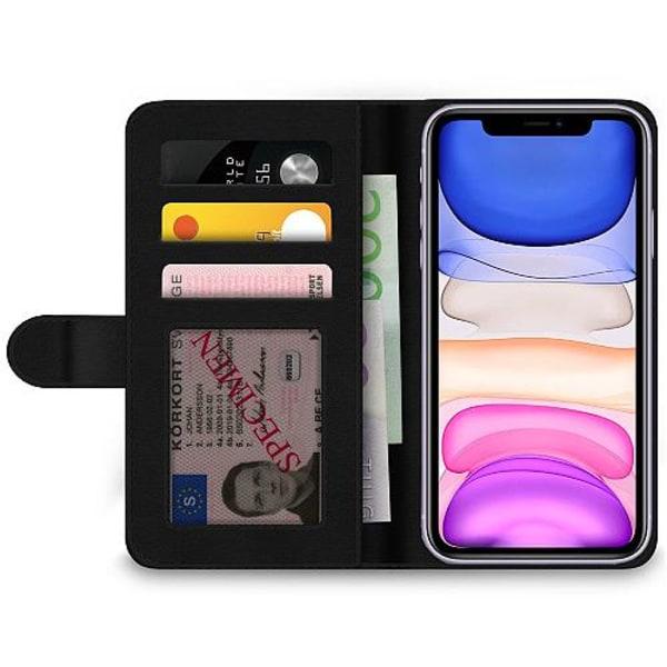 Apple iPhone 12 mini Plånboksfodral Retro Dino