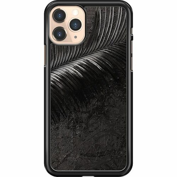 Apple iPhone 11 Pro Hard Case (Svart) Feathery Ashes