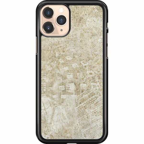 Apple iPhone 11 Pro Hard Case (Svart) Footprints