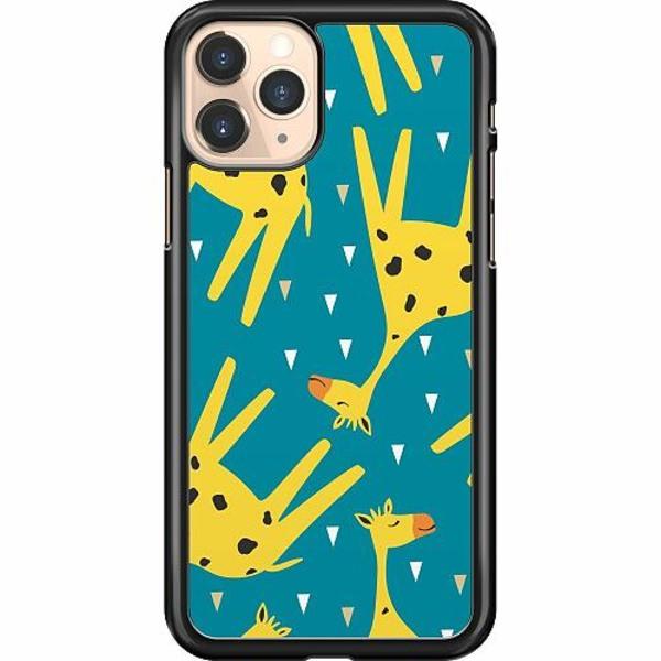 Apple iPhone 11 Pro Hard Case (Svart) Giraffes Good Grace pt.2