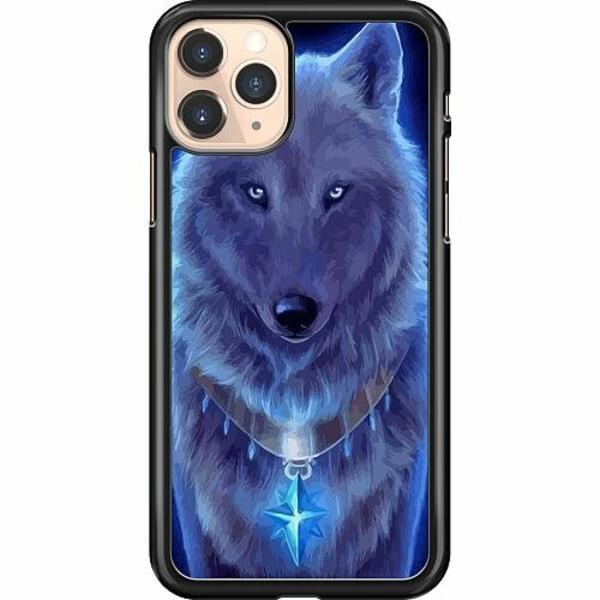 Apple iPhone 11 Pro Hard Case (Svart) Lunar Presence Wolf