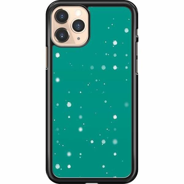 Apple iPhone 11 Pro Hard Case (Svart) Winter Tetris