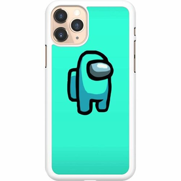 Apple iPhone 11 Pro Hard Case (Vit) Among Us