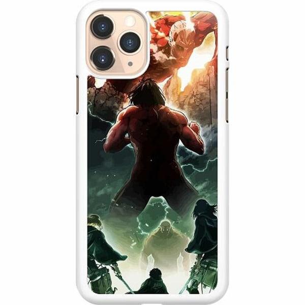 Apple iPhone 11 Pro Hard Case (Vit) Attack On Titan
