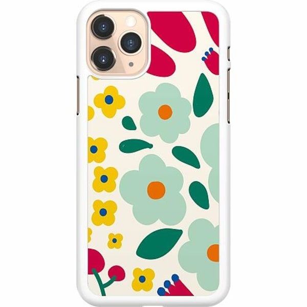Apple iPhone 11 Pro Hard Case (Vit) Baby Flowers