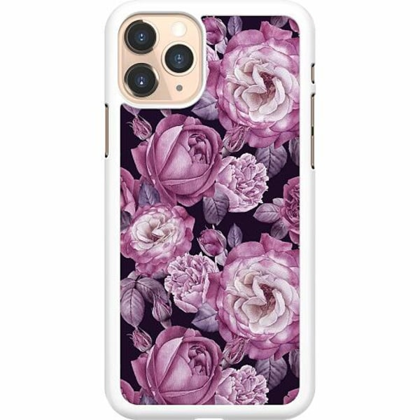 Apple iPhone 11 Pro Hard Case (Vit) Blommor