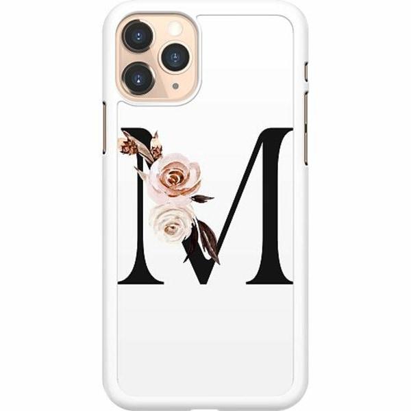 Apple iPhone 11 Pro Hard Case (Vit) Bokstäver