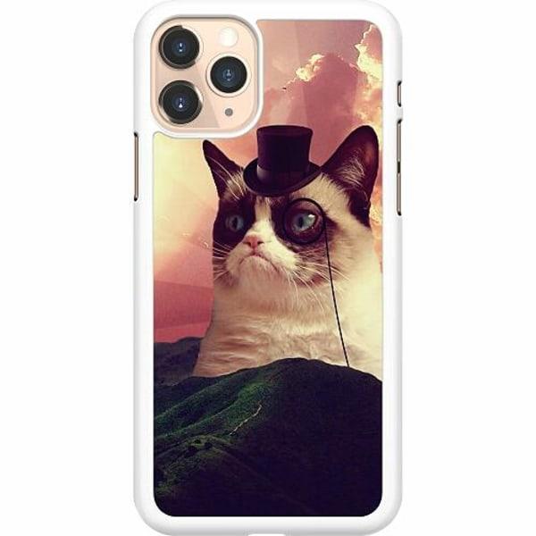 Apple iPhone 11 Pro Hard Case (Vit) Cat Af Grund
