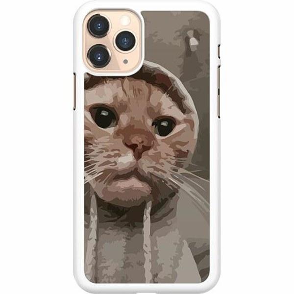 Apple iPhone 11 Pro Hard Case (Vit) Cat Called
