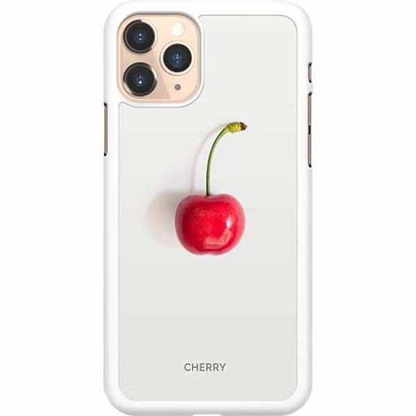 Apple iPhone 11 Pro Hard Case (Vit) Cherry