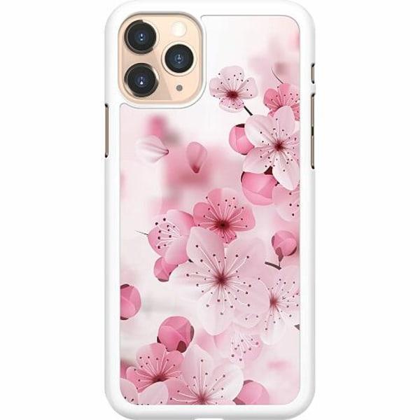 Apple iPhone 11 Pro Hard Case (Vit) Cherry Blossom