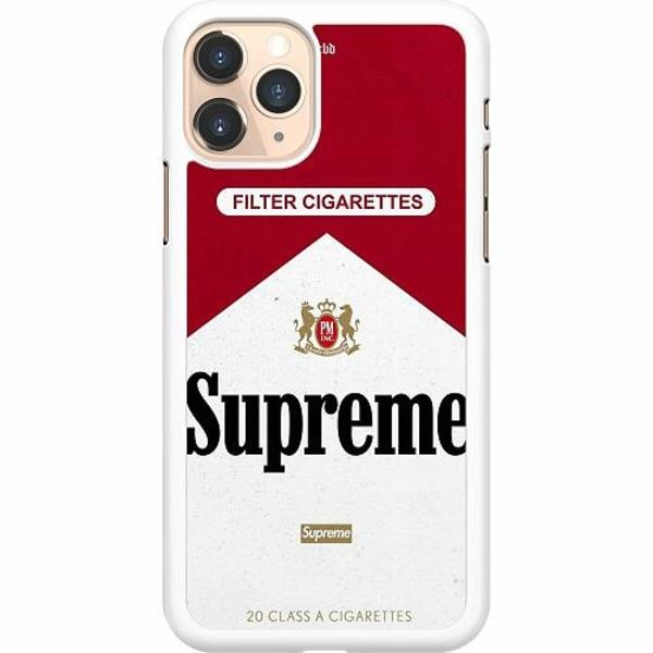 Apple iPhone 11 Pro Hard Case (Vit) Cigarette Package