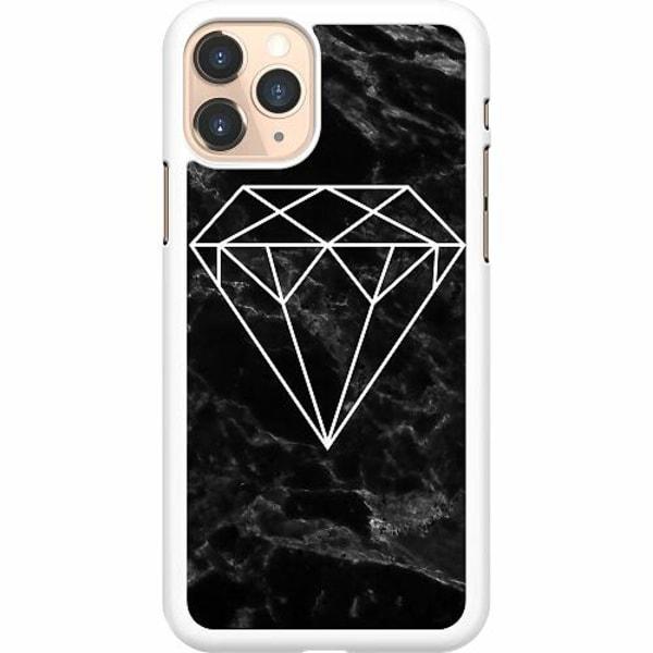 Apple iPhone 11 Pro Hard Case (Vit) Diamant