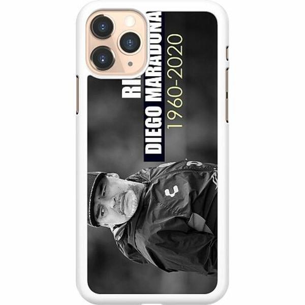 Apple iPhone 11 Pro Hard Case (Vit) Diego Maradona