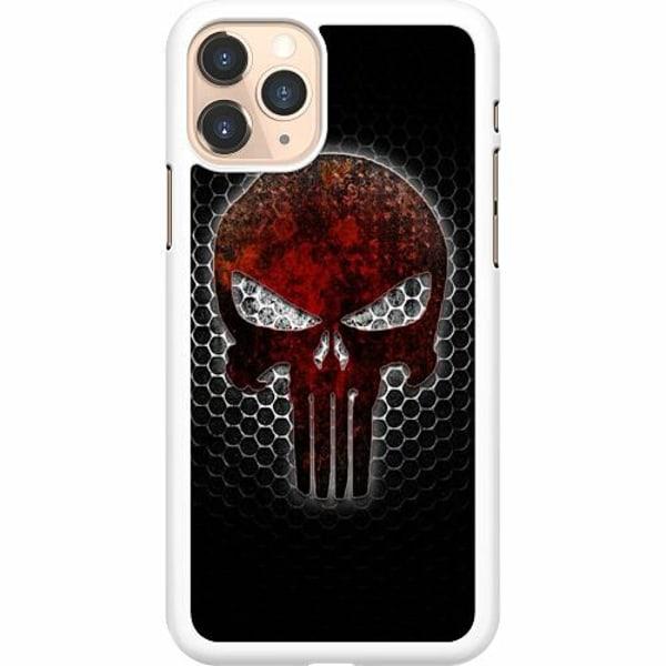 Apple iPhone 11 Pro Hard Case (Vit) Dödskalle