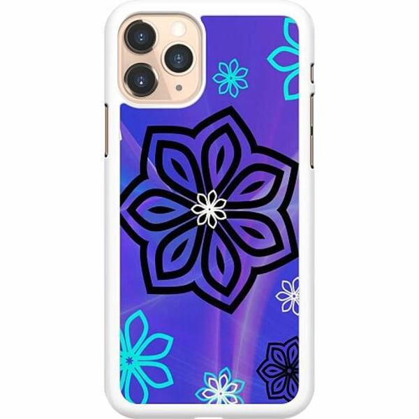 Apple iPhone 11 Pro Hard Case (Vit) Flower on LCD