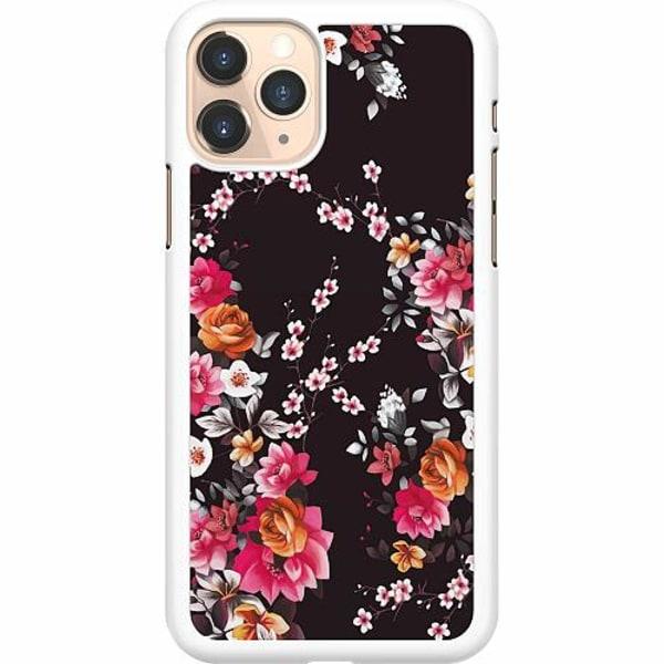 Apple iPhone 11 Pro Hard Case (Vit) Flower Splash