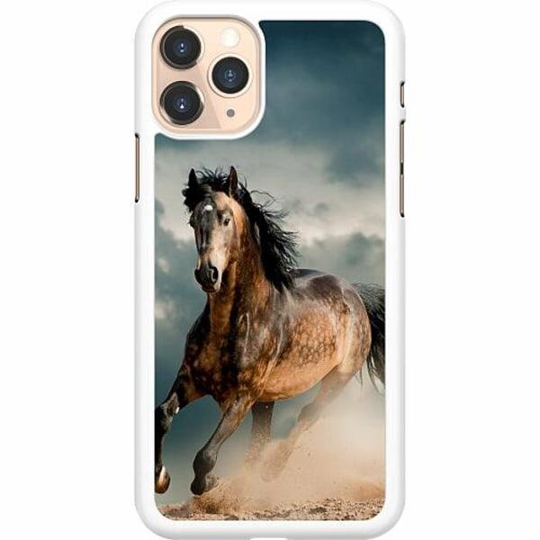 Apple iPhone 11 Pro Hard Case (Vit) Häst
