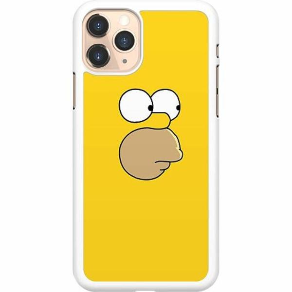 Apple iPhone 11 Pro Hard Case (Vit) Homer Simpson