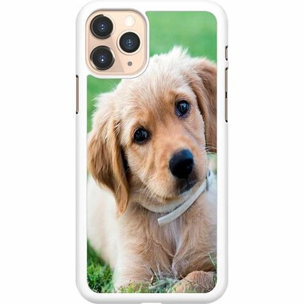 Apple iPhone 11 Pro Hard Case (Vit) Hund