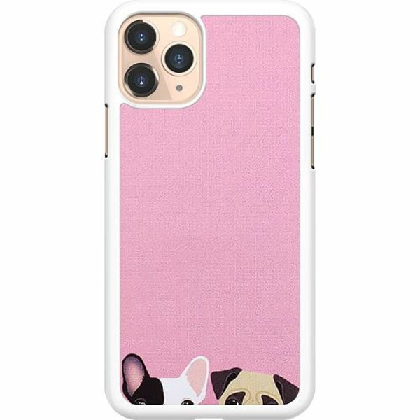 Apple iPhone 11 Pro Hard Case (Vit) Hundar