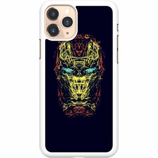 Apple iPhone 11 Pro Hard Case (Vit) Iron