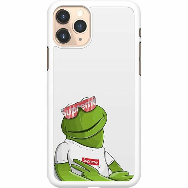 Apple iPhone 11 Pro Hard Case (Vit) Kermit SUP