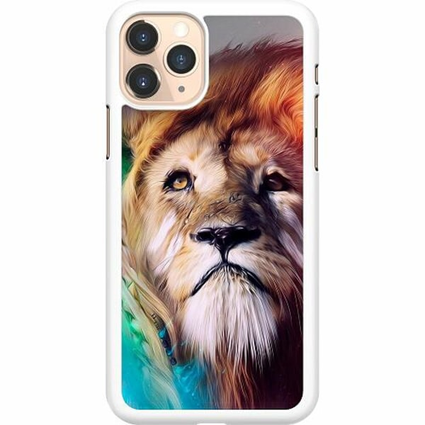 Apple iPhone 11 Pro Hard Case (Vit) Lion