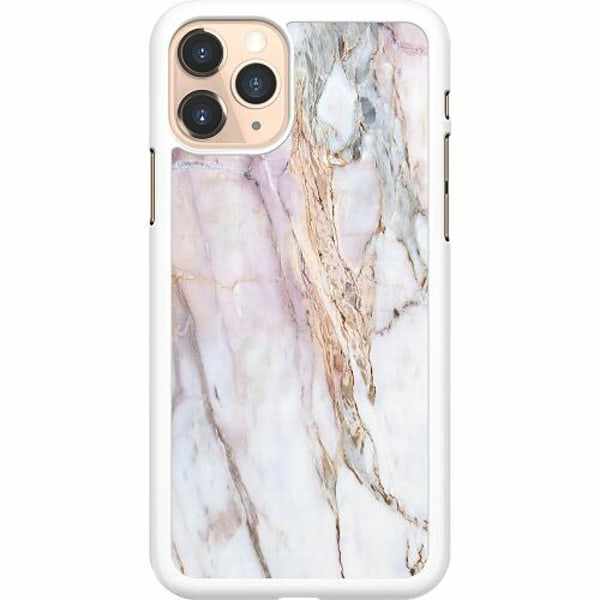 Apple iPhone 11 Pro Hard Case (Vit) Marmor