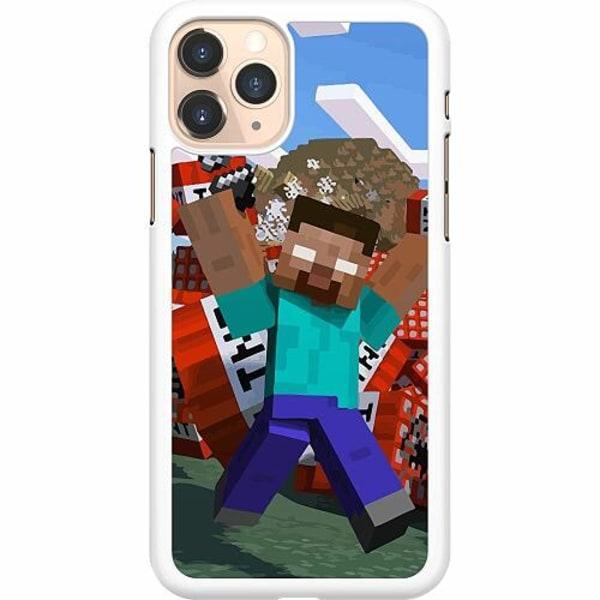 Apple iPhone 11 Pro Hard Case (Vit) MineCraft