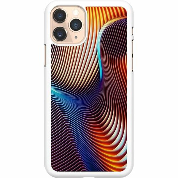 Apple iPhone 11 Pro Hard Case (Vit) Mönster