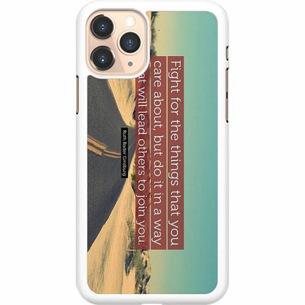 Apple iPhone 11 Pro Hard Case (Vit) Ruth Bader Ginsburg (RBG)
