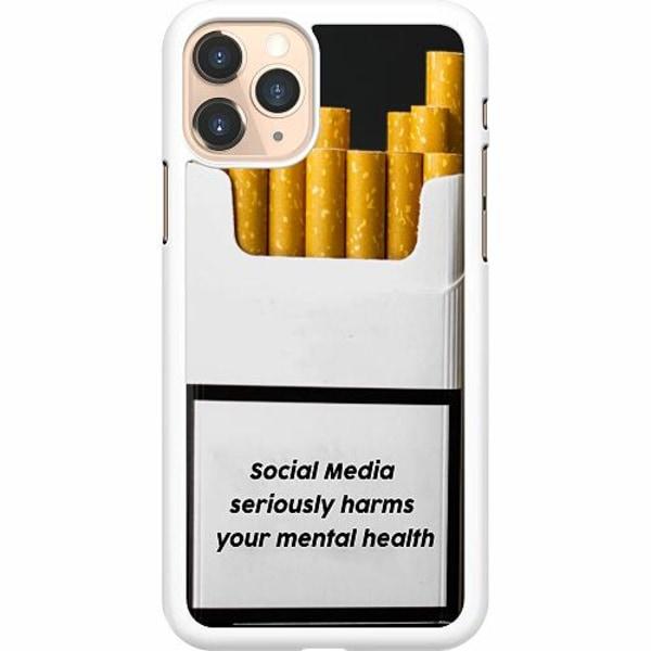 Apple iPhone 11 Pro Hard Case (Vit) Social Media Harms...