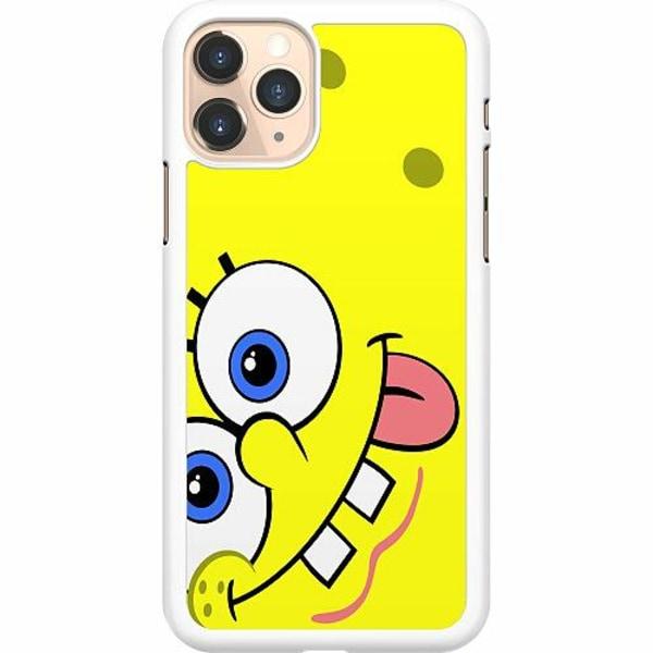 Apple iPhone 11 Pro Hard Case (Vit) SpongeBob Fyrkant