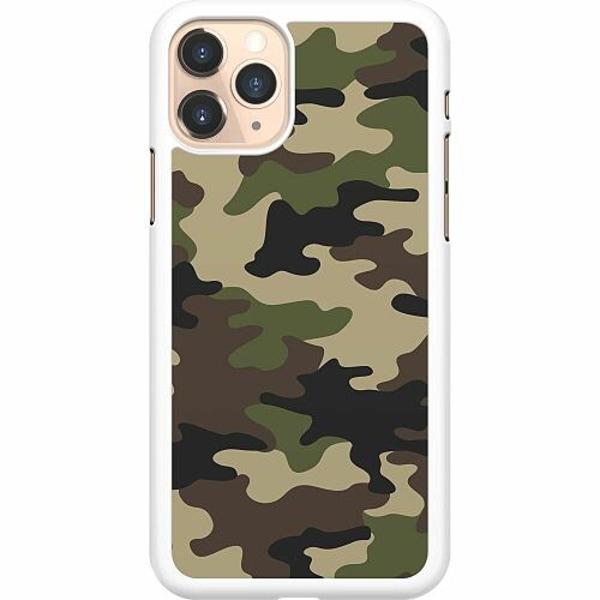 Apple iPhone 11 Pro Hard Case (Vit) Woodland Camo