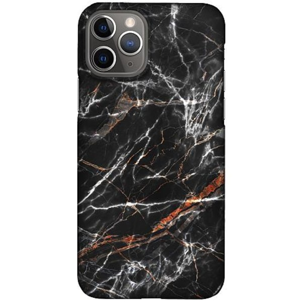 Apple iPhone 12 Pro LUX Mobilskal (Matt) BL4CK MARBLE