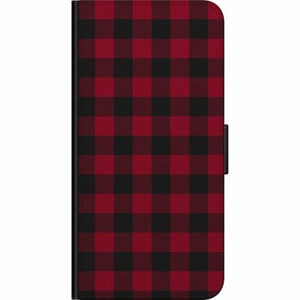 Huawei Y6 (2019) Billigt Fodral Checkered Flannel
