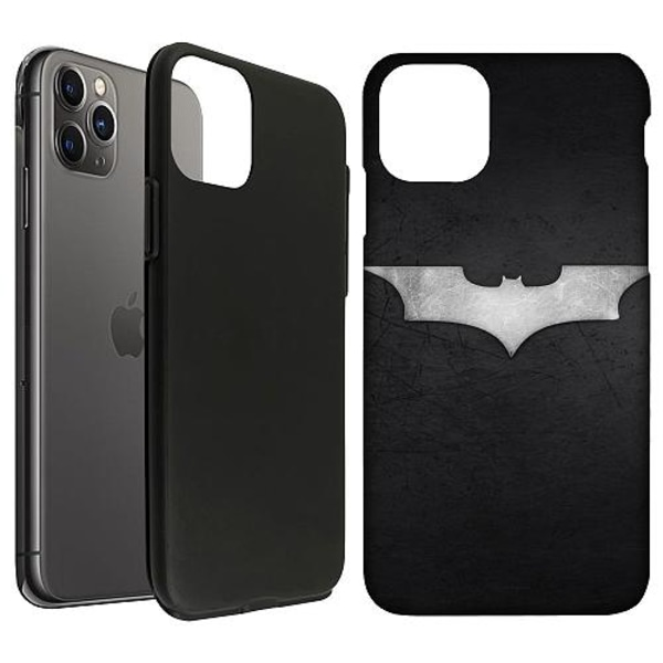 Apple iPhone 11 Pro Max LUX Duo Case (Matt) Batman