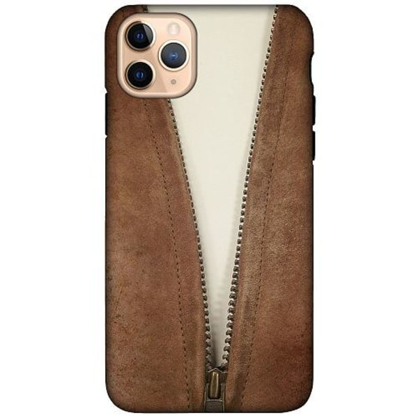 Apple iPhone 11 Pro Max LUX Duo Case (Matt) Leather Zip
