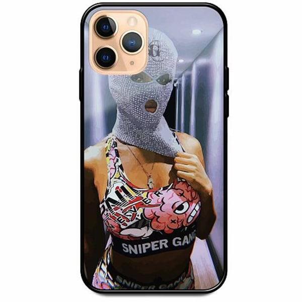 Apple iPhone 12 Pro Svart Mobilskal med Glas Pussy Riot