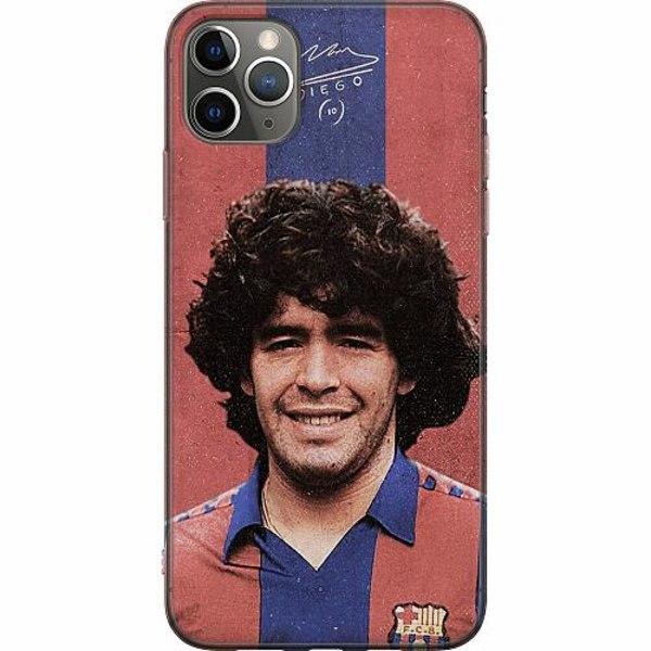 Apple iPhone 11 Pro Max Mjukt skal - Diego Maradona