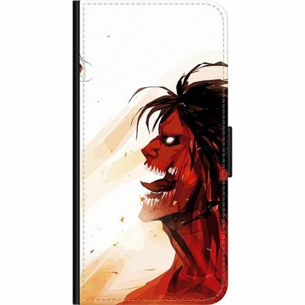 Apple iPhone 8 Plus Wallet Case Attack On Titan