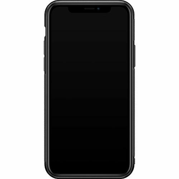 Apple iPhone 11 Pro Soft Case (Svart) Hello Doggo
