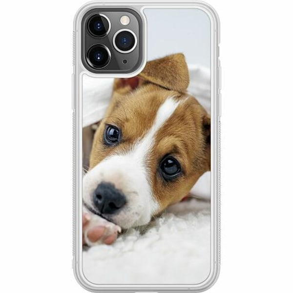 Apple iPhone 11 Pro Soft Case (Frostad) Cute Puppy