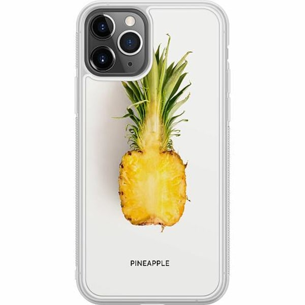 Apple iPhone 11 Pro Soft Case (Frostad) Pineapple