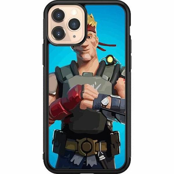 Apple iPhone 11 Pro Soft Case (Svart) Fortnite 2021