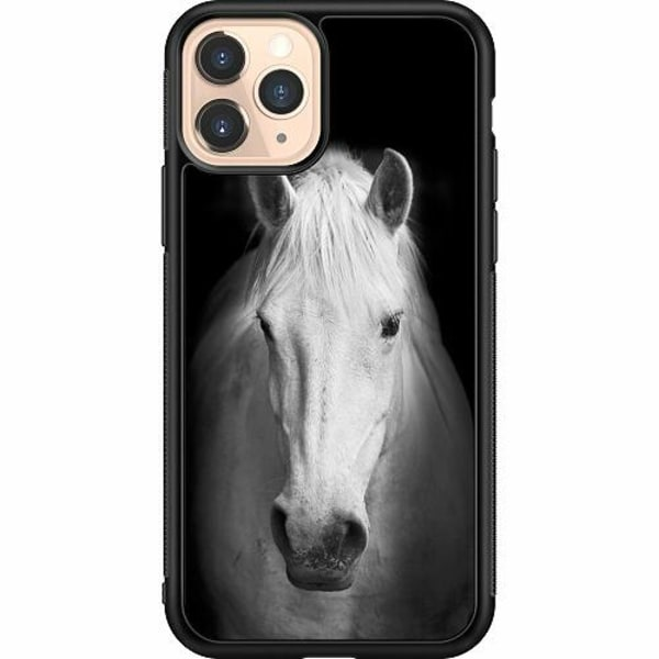 Apple iPhone 11 Pro Soft Case (Svart) Häst