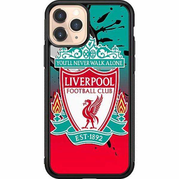 Apple iPhone 11 Pro Soft Case (Svart) Liverpool