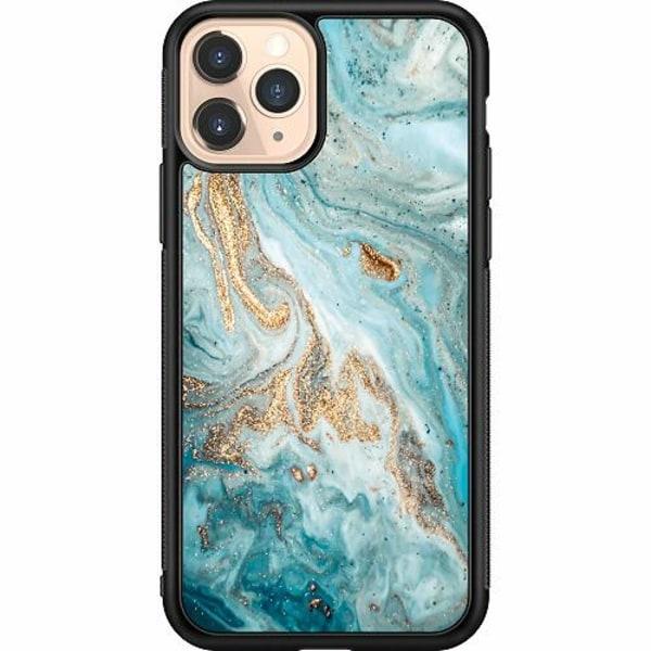 Apple iPhone 11 Pro Soft Case (Svart) Magic Marble
